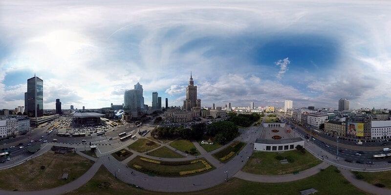 """Film 360 na Expo 2015 """"Warszawa 360"""""""