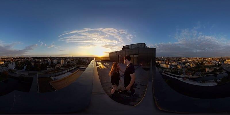 Bydgoszcz VR Dance Project - na szczycie apartamentowca NordicHaven