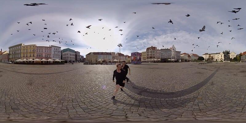 Bydgoszcz VR Dance Project - Stary Rynek w Bydgoszczy