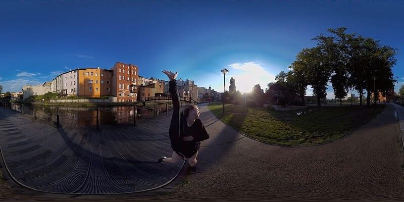 Film 360 Bydgoszcz VR Dance Project - Wenecja Bydgoska