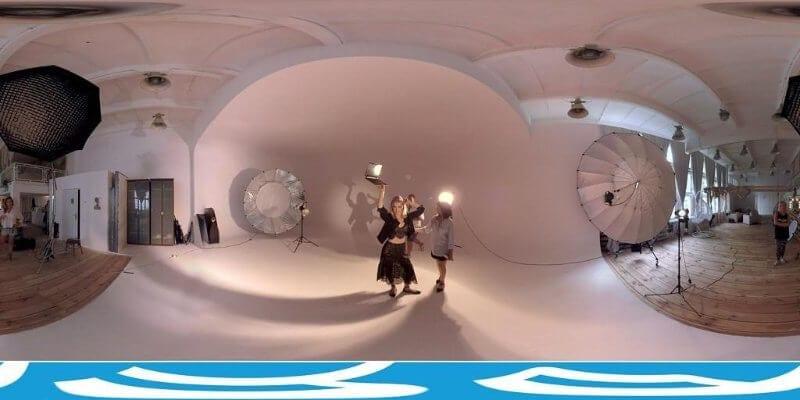 """Film 360 """"Dzień z życia Maffashion"""" dla HP"""