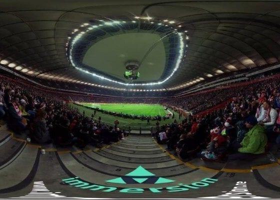 Film 360 z meczu Polska – Islandia dla PZPN
