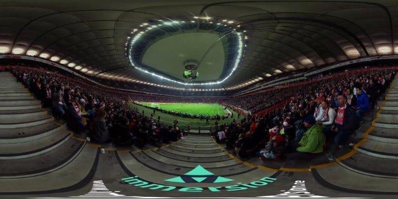 Film 360 z meczu Polska - Islandia dla PZPN