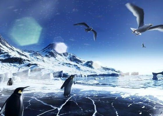 Animacja VR dla Amundsen Vodka