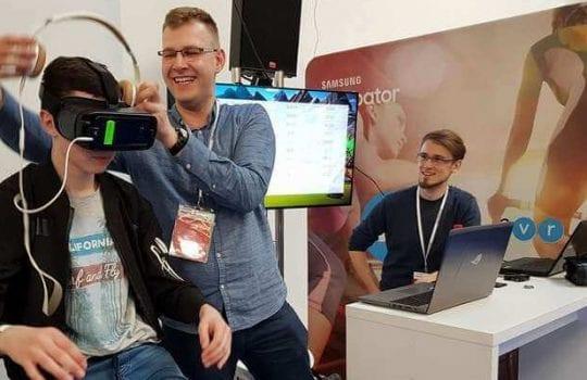 CinematicVR Aplikacja VR Bike2VR