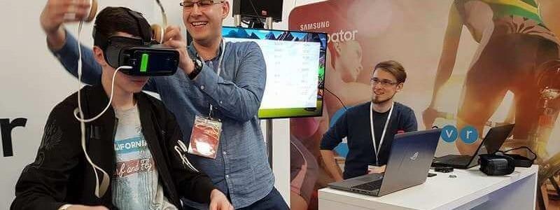 VR na Electronics Show w Ptak Warsaw Expo
