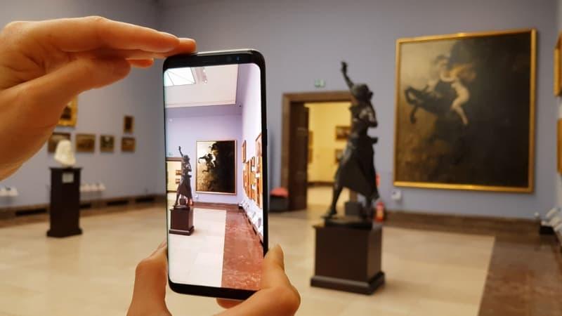 Aplikacja AR dla Muzeum Narodowego w Sukiennicach